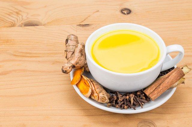 O chá de gengibre, cravo e canela é um dos melhores chás para perder a barriga