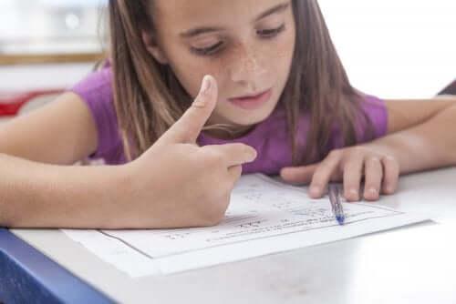 Como saber se seu filho tem discalculia