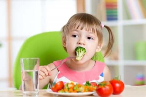 Gostos alimentares das crianças