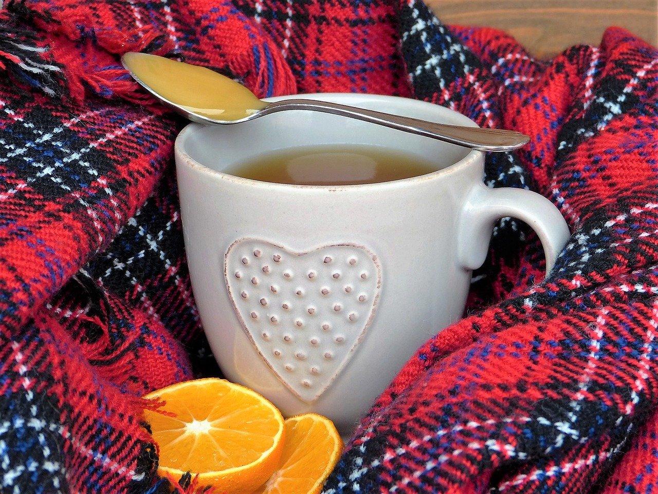 Chás para combater a gripe
